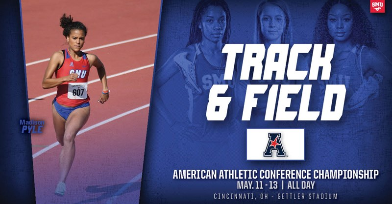 Mustangs Head to American Conference Outdoor Championships - SMU Athletics